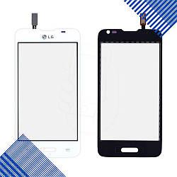 Тачскрин LG D280 Optimus L65, цвет белый, на 2 sim карты