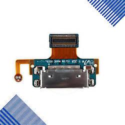 Разъем зарядки Samsung P6200 Galaxy Tab Plus 7.0, P6201 с микрофоном и компонентами
