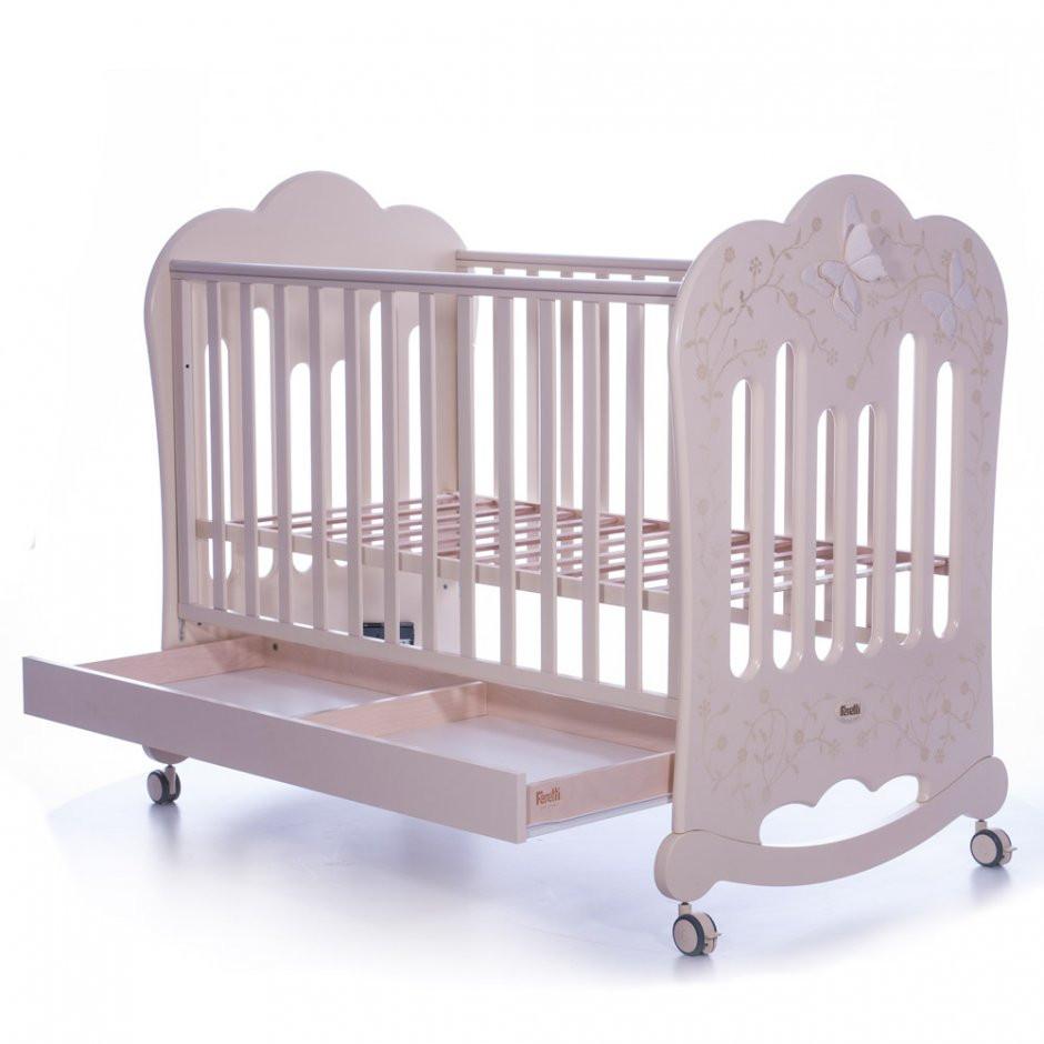 Детская кроватка  Feretti Charme Lettino Avorio
