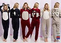 Женская пижама кигуруми-Единорог