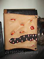 Зомби-Блокнот кожаный