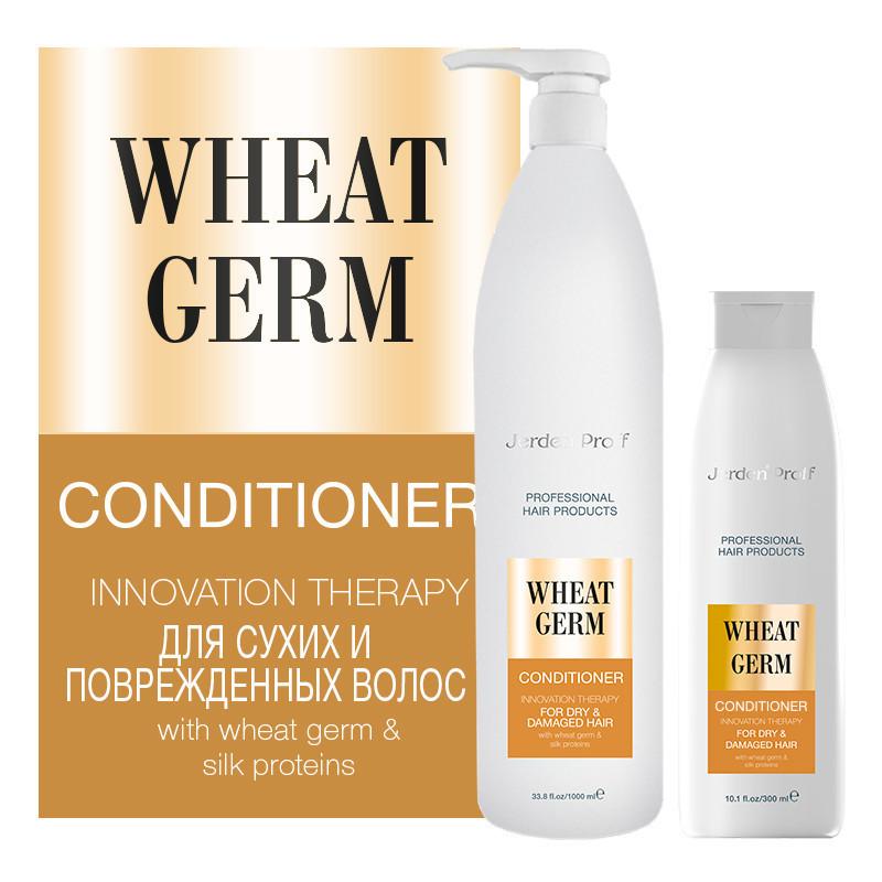 Кондиционер для сухих и поврежденных волос JERDEN PROFF conditioner wheat germ 1000 ml