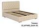 Ліжко двоспальне у м'якій оббивці Беатріс / Кровать двуспальная в мягкой обивке Беатрис, фото 5