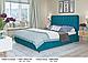 Ліжко двоспальне у м'якій оббивці Беатріс / Кровать двуспальная в мягкой обивке Беатрис, фото 6
