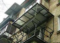 Увеличение, усиление балконов, лоджий