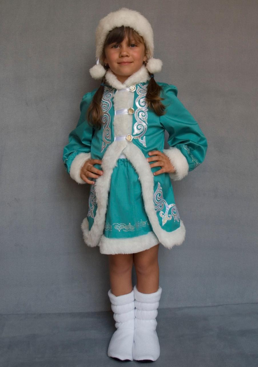 Новогодний наряд для утренника Снегурочка 5-6 лет