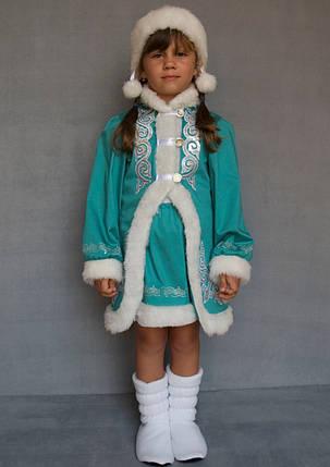 Новогодний наряд для утренника Снегурочка 5-6 лет, фото 2