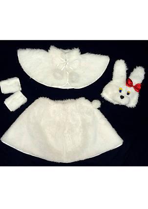 Карнавальный костюм Зайки для девочки 3-6 лет, фото 2