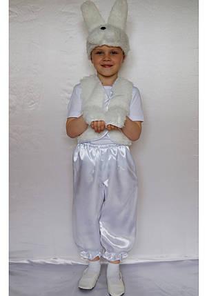 Костюм маскарадный для мальчика Зайчик 3-6 лет, фото 2
