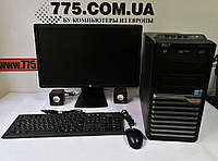 "Комплект: системный блок ATX (Core i5, 8GB, SSD, GTX1050Ti 4GB), монитор 22"" IPS, клавиатура, мышь, колонки, фото 1"