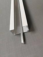 Карниз алюминиевый белый для вертикальных жалюзи