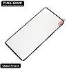 Защитное стекло Full Glue Oppo Find X (Black) - 5D Полная поклейка