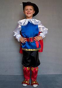 Детский маскарадный костюм для мальчика Кот в сапогах 3-6 лет