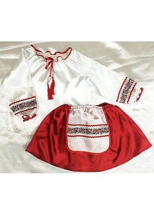 Карнавальный национальный костюм Украинки для девочки 3-6 лет, фото 2