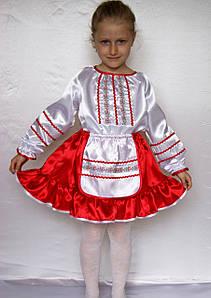 Национальный костюм Украинки для девочки на утренник 3-6 лет