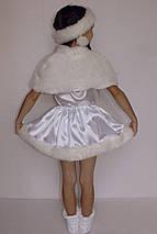 Костюм маскарадный для девочки Снежинка 3-6 лет, фото 3