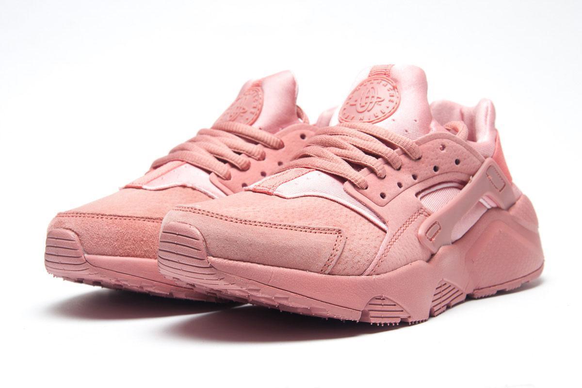 Кроссовки женские Nike Air Huarache, розовые (11322),  [  36 (последняя пара)  ]