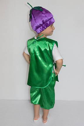 Костюм на праздник осени Баклажан для мальчика 3-6 лет, фото 2
