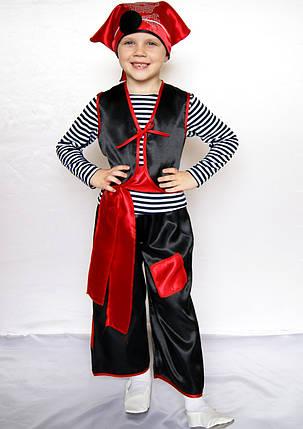 Детский маскарадный костюм Пират для мальчика 3-6 лет, фото 2