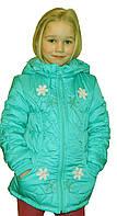 """Куртка детская весенняя для девочек """"Анюта"""""""