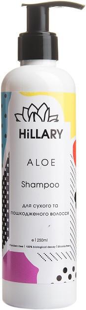 Натуральный шампунь для сухих и поврежденных волос ALOE Shampoo 250 мл