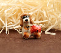9380388 Фигурка керамическая Собака Пудель (колір)