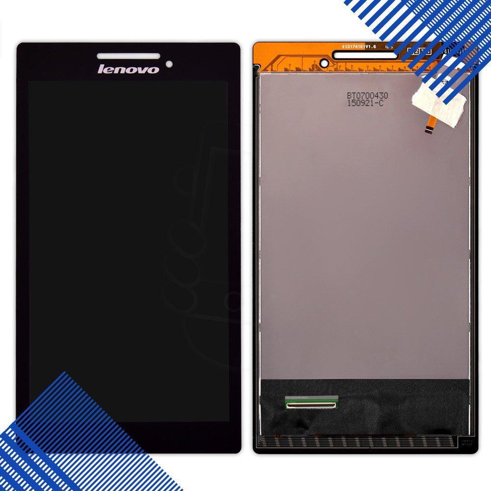 Дисплей Lenovo A7-10 Tab 2, A7-20F с тачскрином в сборе, цвет черный, уценка