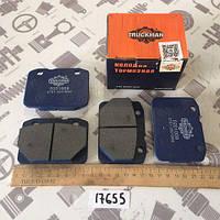 Колодка тормозная ВАЗ 2101-2107 передние 4шт (TRUCKMAN) (2101-3501800)