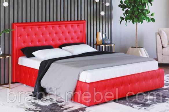 Ліжко двоспальне у м'якій оббивці Стефані / Кровать двуспальная в мягкой обивке Стефани
