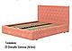Ліжко двоспальне у м'якій оббивці Стефані / Кровать двуспальная в мягкой обивке Стефани, фото 5