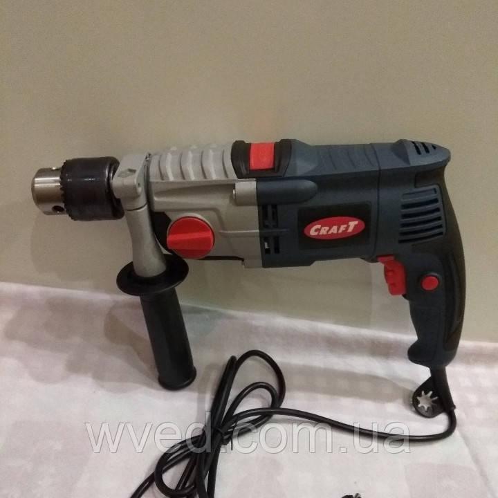 Дрель электрическая ударная двухскоростная CRAFT CPD-16/1250-2