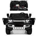 Двухместный детский электромобиль Джип Land Rover, 4 мотора, Кожа, EVA, Амортизаторы, дитячий електромобіль, фото 2