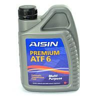 Трансмиссионное масло Aisin PREMIUM ATF6  ATF-92001 1л
