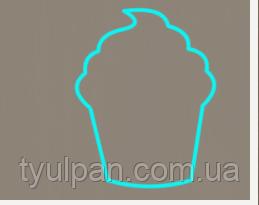 Вырубка кондитерская для пряника мастики марципана Кекс 8см