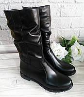 Кожаные полусапожки от производителя обувь VISTANI
