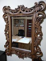 Изготовление резного зеркала из дерева 1