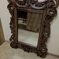 Изготовление резного зеркала из дерева 2