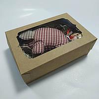 Коробка крафт для подарков и сувениров 250х170х80 мм, фото 1