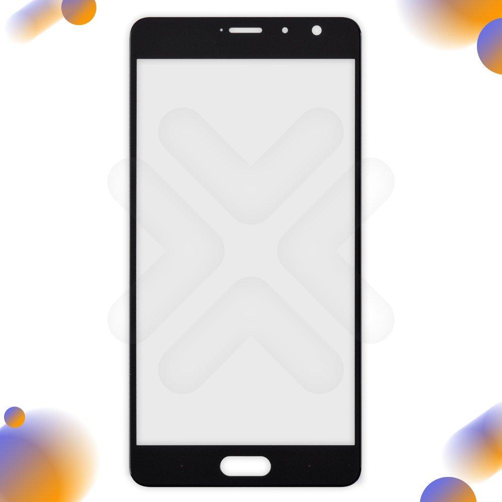 Стекло корпуса для Xiaomi Mi Note Pro, цвет черный