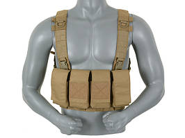 5.56 Mags Chest Rig - Coyote [8FIELDS]
