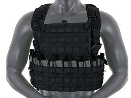 Тактический Chest Rig пехотный - Black [8FIELDS] (для страйкбола)