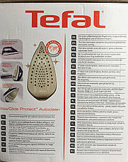 Утюг с паром Tefal Ultimate Anti-Calc FV9640E0 (2600 Вт, 50 г/мин, паровой удар 200 г/мин, Autoclean Cathalys), фото 2