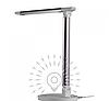 Настольная светодиодная лампа 6Вт LMN085 6000K серебро
