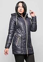 Женская куртка плащевка стеганая весна №12 батал 50-60р 763337863f80b
