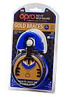 Капа OPRO Gold Braces Blue/Pearl (art.002194002), фото 5