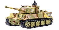 Танк микро р/у 1:72 Tiger со звуком (хаки коричневый)