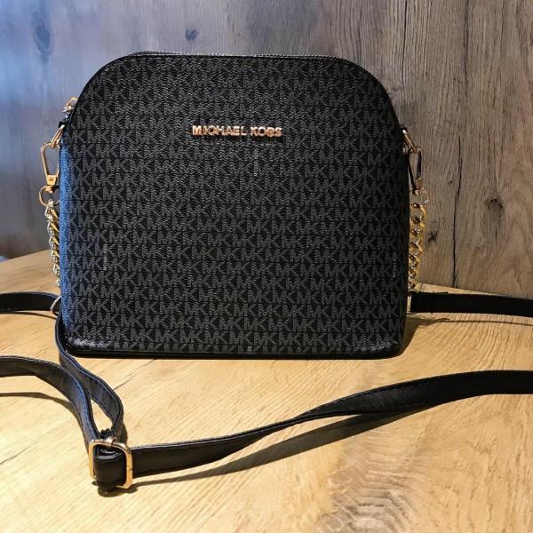 Женская сумочка Mi-hael Kor$ (в стиле Майкл Корс), черный цвет