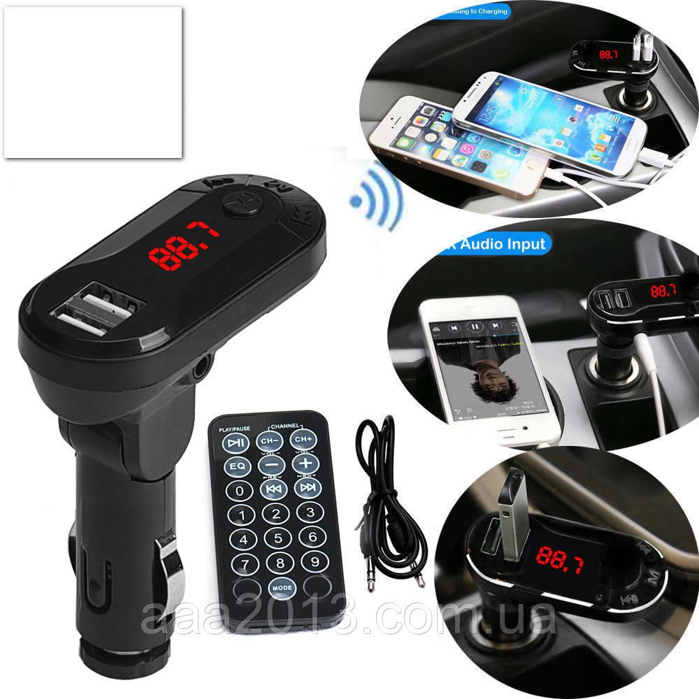 ЗАРЯДКА USB 5в1 РАДИО FM модулятор трансмиттер, mp3 плеер