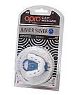 Капа OPRO Junior Silver White/Black (art.002190006), фото 5