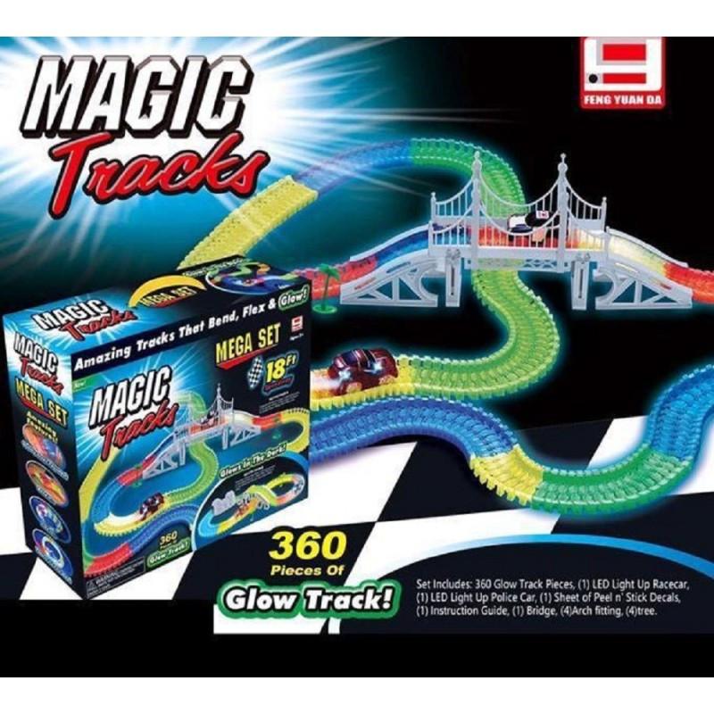 Гибкий трек Magic Track FYD170209-A 360 деталей 5,5м